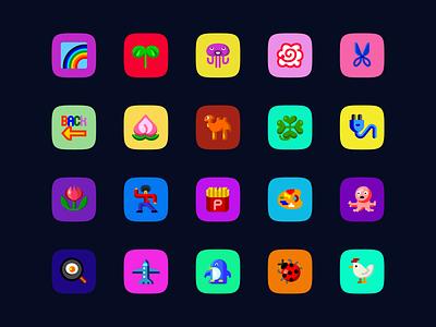 Emojis!!!!!!!!!!!! icon emoji emoji set illustration