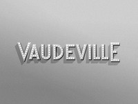 Vaudeville full