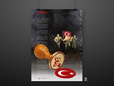 Mehmet Akif Ersoy ve İstiklal Marşı digital poster digital art design poster design poster kurtulus savasi kurtulus savasi ataturk istiklal marşı mehmet akif ersoy mehmet akif ersoy
