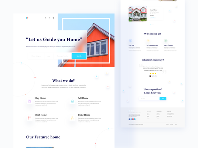 Real Estate Landing page house apartments for sale startup booking app real estate real estate rent rent marketing website buy sell apartments uiux ui realestate homepage design minimal landing page ui landing page design landing page hellodribbble