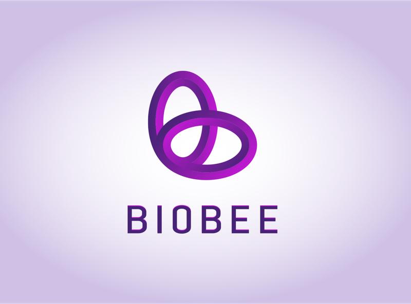 modern minimalist logo - biobee icon symbol monogram b bold 2020 unique clean alphabet typography design minimal minimalist logo modern corporate branding bird animal geometic graphic design brand identity