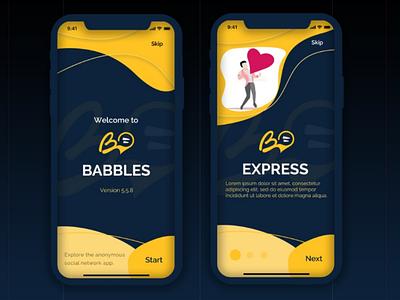 Dating app - onboarding photoshop figma adobe ui design