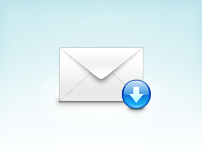 Download Mail download mail icon arrow envelope soft