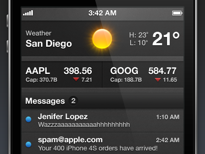 Notification Center notification center ui app