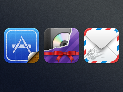 Kiwi is Back! - App Store, iTunes, and Mail kiwi app store itunes mail icon icons