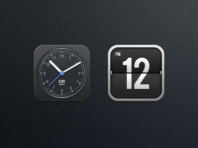 Kiwi - Clock kiwi ios iphone theme clock flip icon