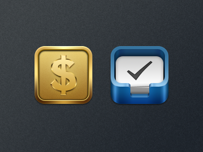 Kiwi - Stocks and Things kiwi ios theme icon stocks things coin tray