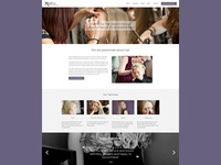 Revive Hairdressing website redesign