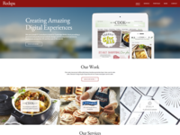 Web Design Agency Homepage