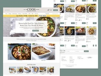 Ecommerce website for national food retailer
