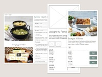 Ecommerce website products redesign