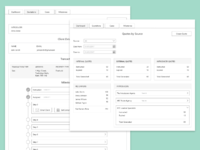Wireframes for conveyancng software