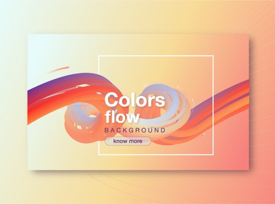 BACKGROUND COLORS FLOW gradient flow illustration design web app temple color ui vector background