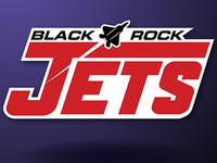 Black Rock Jets Logo