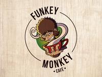 Funkey Monkey Cafè Logo