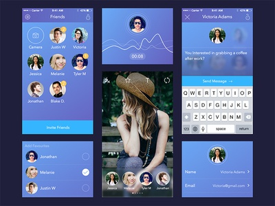 New App UI