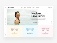 Le Specs Landing Page