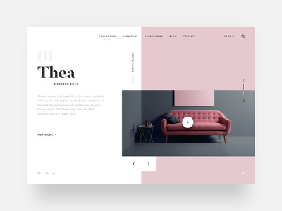 Sofa Layout typography design sofa minimal layout ux ui betraydan