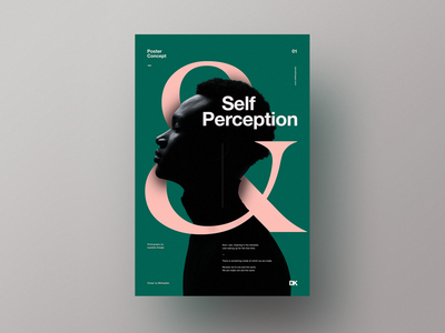 Self Perception simplicity minimal design typography graphicdesign posterdesign poster betraydan