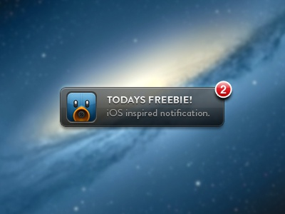 Notification betraydan ui notification ios freebie design