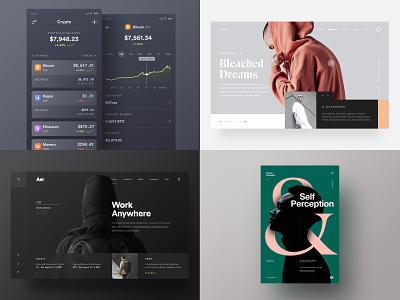 Best of 2018 top4shots ios minimal web poster ux ui 2018 betraydan