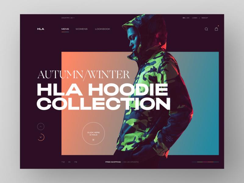 HLA Jeans typeface modern layout web prototype design grid clean typography minimal weekendtype betraydan