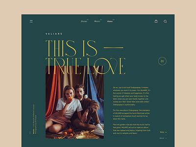Valiare design clean web typeface layout type design minimal typography betraydan