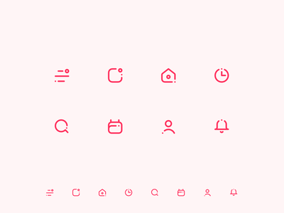 Icons WIP design