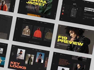 Holden — Web web holden ux clean minimal typography fashion designer ui interface interaction website betraydan