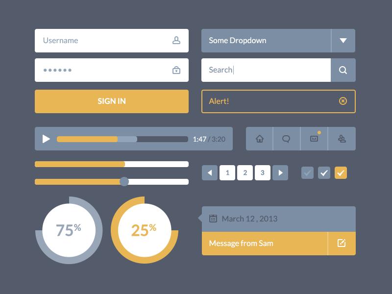 Flatscheme UI betraydan ui ux design flat ui flat design player search popup form progress