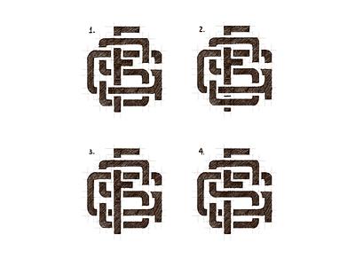 GFS letras sans letters monograma lettering monogram