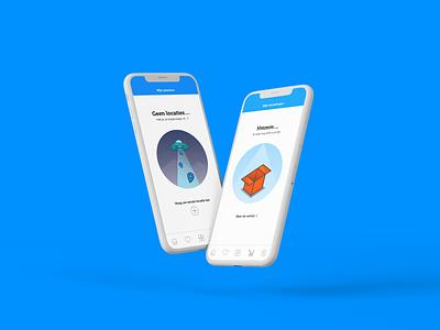 ibood app vector typography logo branding website ux ui minimal illustration design