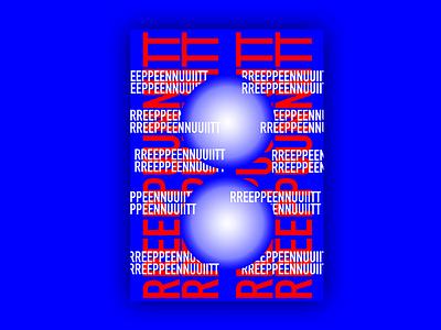 poster challenge type logo illustrator vector art minimal typography illustration design branding