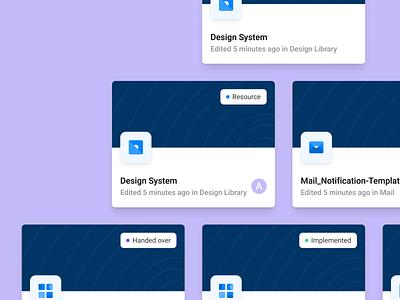 Jobpal Figma Cover Template design library designsystem design language design system components cards template figma design uiux ui figmadesign figma cover