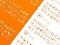 free 120 icon square ilepixeli set