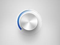 simple volume knob