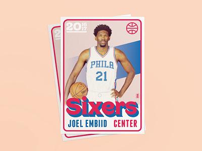 Jojo! philadelphia 76ers mixers nba card joel embiid jojo all-star philly card nba