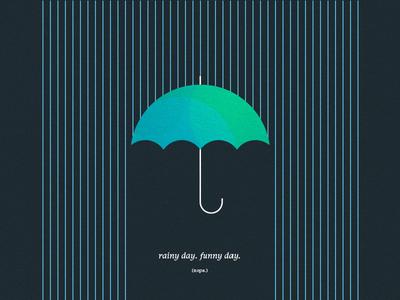 rainy day. funny day rainy day nope umbrella raining rain
