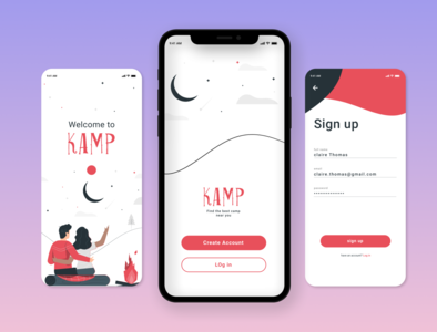 UI Daily 001  - Sign Up