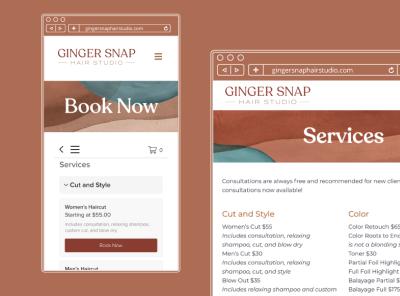 Ginger Snap Website