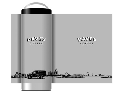 Dave's Coffee Kanteen Design