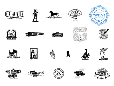LogoLounge Book 12 book logolounge design typography identity vector custom branding retro illustration classic logo vintage