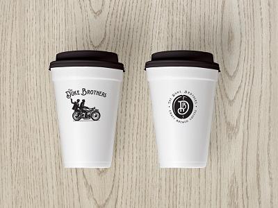 The Duke Brothers - DB Monogram duke brothers coffee vintage monogram db