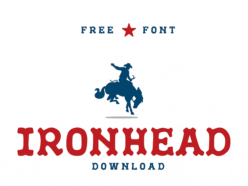 IronHead - Free Font Download download industrial ironhead font free