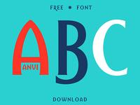 Anvi - Free Font Download