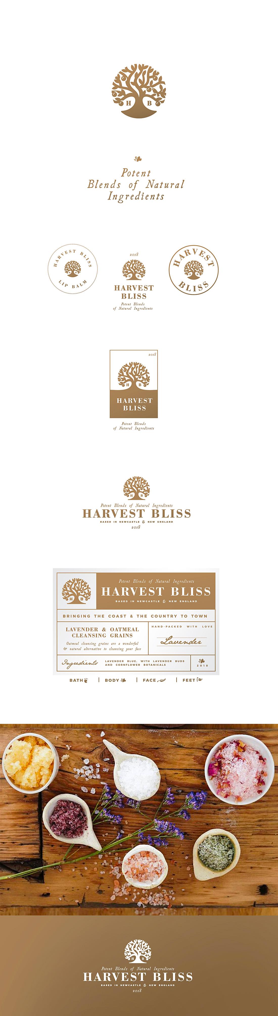 Harvestblissbranding