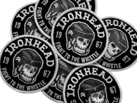 IRONHEAD Patch and FREE Font