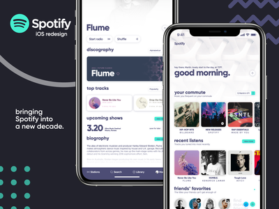 Spotify 2020—an iOS redesign