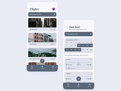 Travel app UI | Explore flights interface traveling trip flight airlines travel airline flights mobile design concept ui app clean simple minimal modern