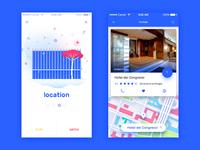 Game Festival App Concept - Location